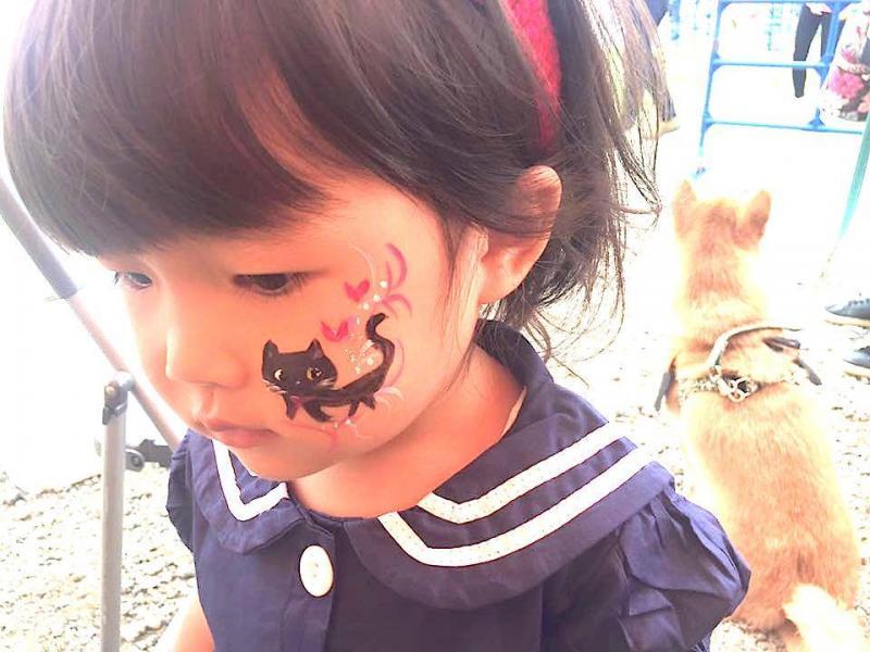 広島フェイスペイント組合-ハロウィンパーティ2017-こころ住宅展示場10080027