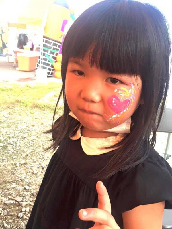 広島フェイスペイント組合-ハロウィンパーティ2017-こころ住宅展示場10080029