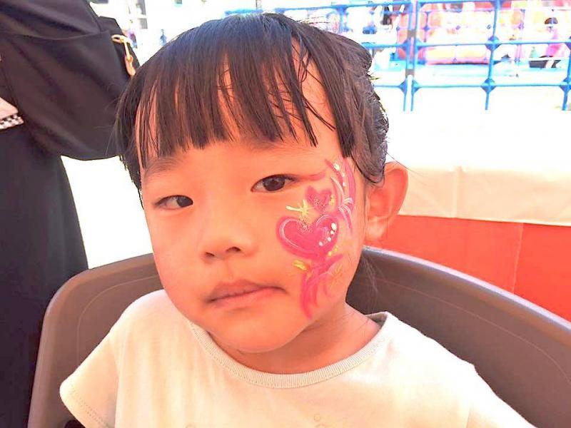 広島フェイスペイント組合-ハロウィンパーティ2017-こころ住宅展示場10080030