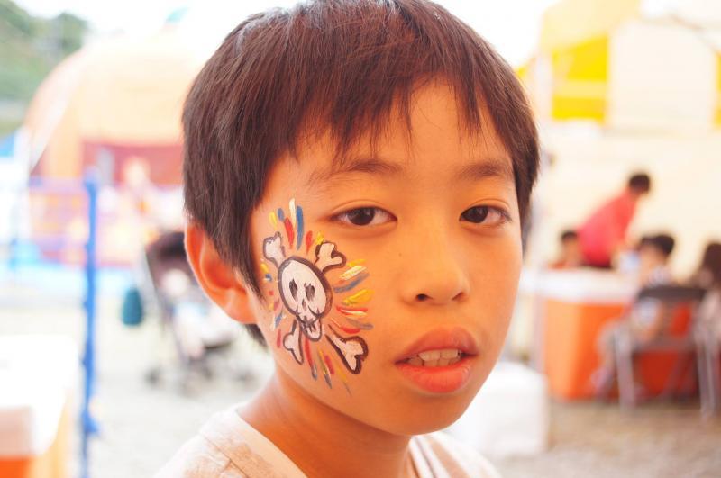 広島フェイスペイント組合-ハロウィンパーティ2017-こころ住宅展示場10080037