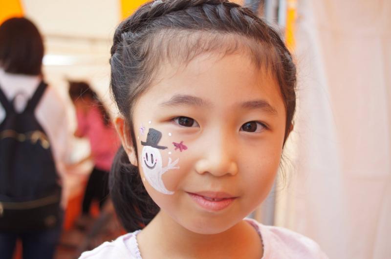 広島フェイスペイント組合-ハロウィンパーティ2017-こころ住宅展示場10080038