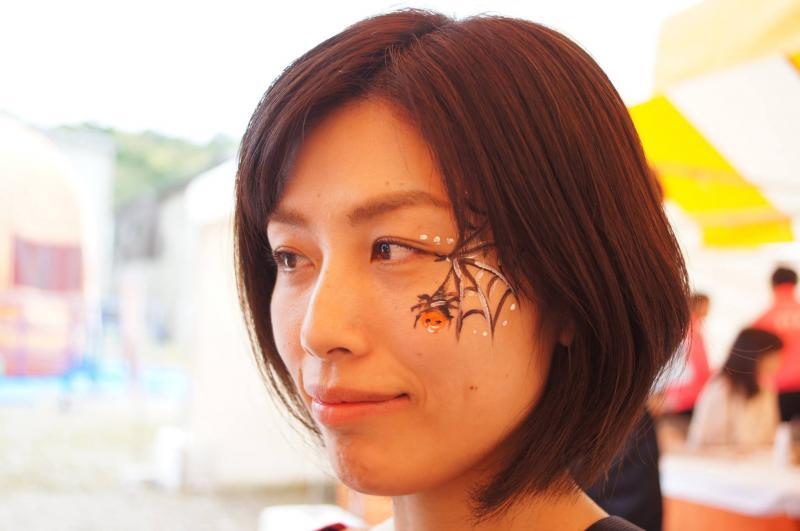 広島フェイスペイント組合-ハロウィンパーティ2017-こころ住宅展示場10080042