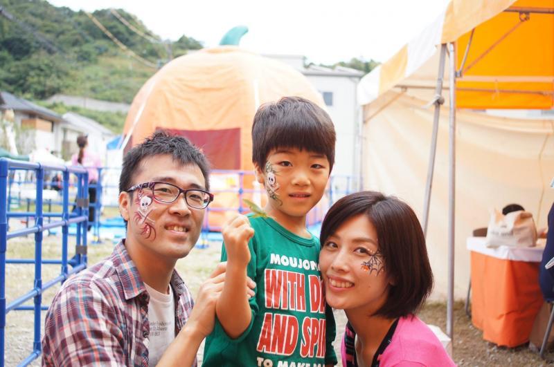 広島フェイスペイント組合-ハロウィンパーティ2017-こころ住宅展示場10080045