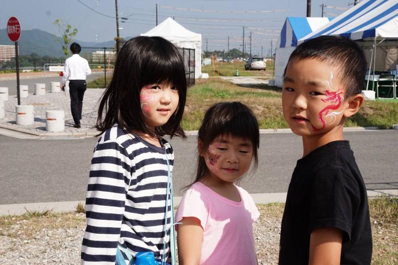 広島フェイスペイント組合-ハロウィンパーティ2017-こころ住宅展示場10090008