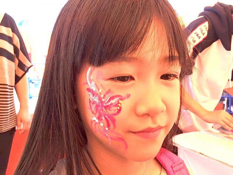広島フェイスペイント組合-ハロウィンパーティ2017-こころ住宅展示場10090012