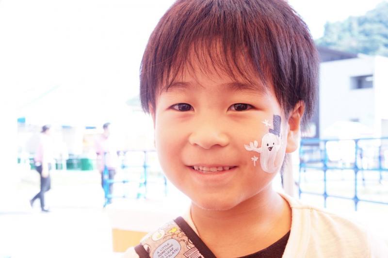 広島フェイスペイント組合-ハロウィンパーティ2017-こころ住宅展示場10090015