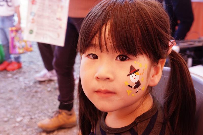広島フェイスペイント組合-ハロウィンパーティ2017-こころ住宅展示場10090016