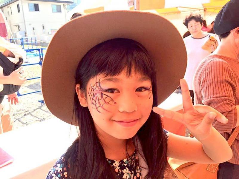 広島フェイスペイント組合-ハロウィンパーティ2017-こころ住宅展示場10090017