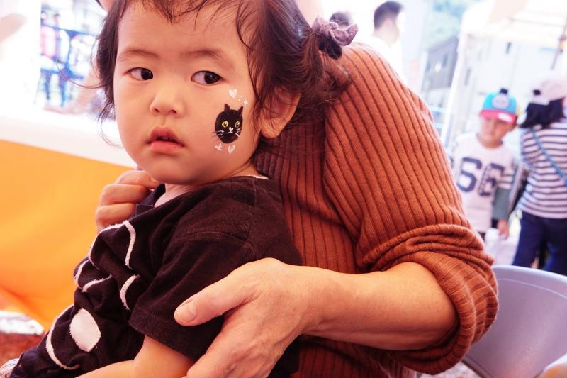 広島フェイスペイント組合-ハロウィンパーティ2017-こころ住宅展示場10090020