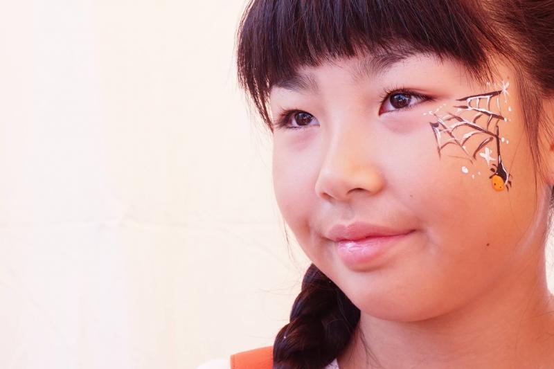 広島フェイスペイント組合-ハロウィンパーティ2017-こころ住宅展示場10090027