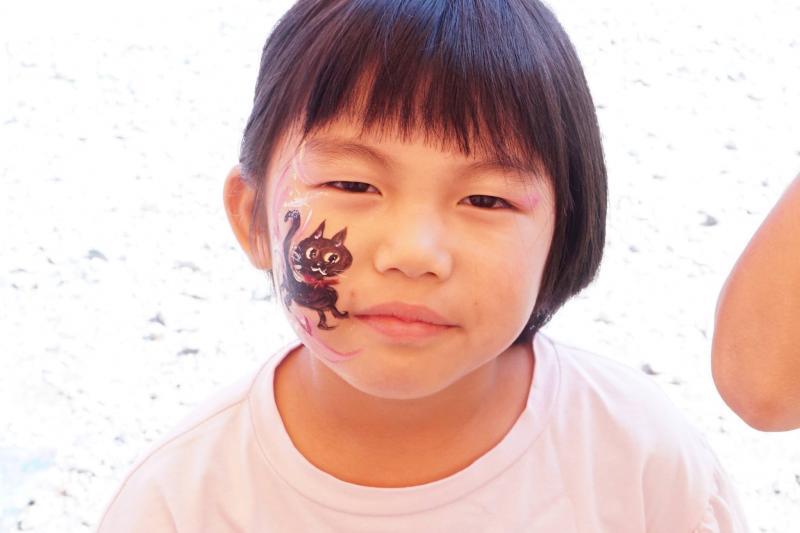 広島フェイスペイント組合-ハロウィンパーティ2017-こころ住宅展示場10090041