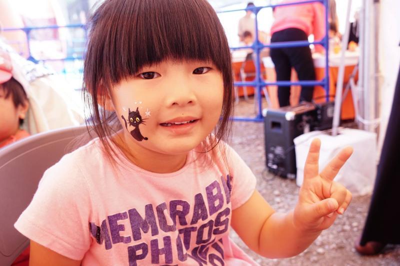 広島フェイスペイント組合-ハロウィンパーティ2017-こころ住宅展示場10090043