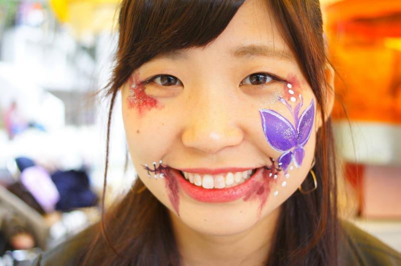 広島フェイスペイント組合-第51回比治山祭-1021-0020