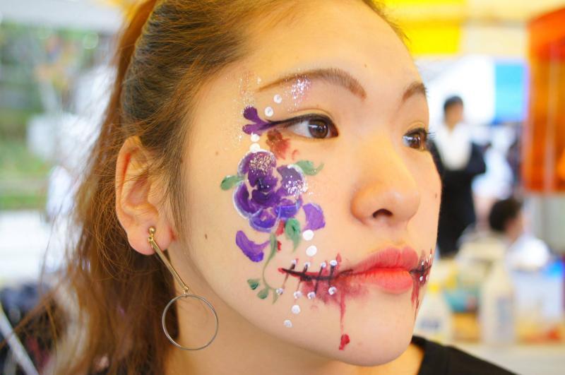 広島フェイスペイント組合-第51回比治山祭-1021-0022