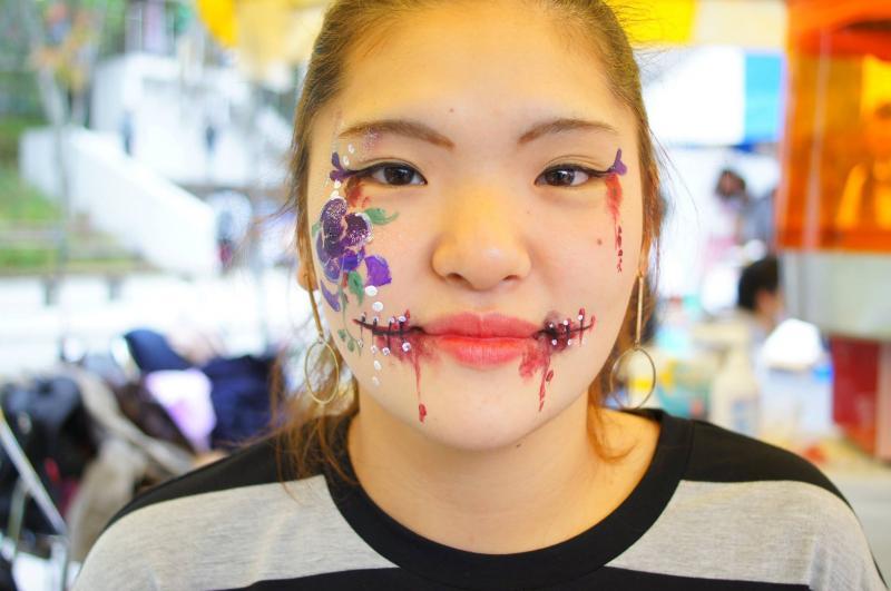 広島フェイスペイント組合-第51回比治山祭-1021-0023