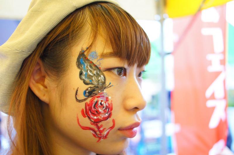 広島フェイスペイント組合-第51回比治山祭-1021-0025