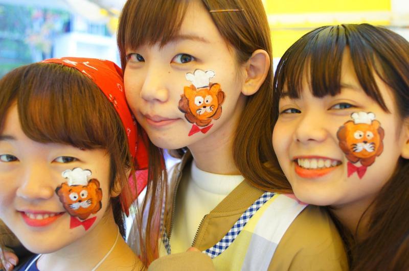 広島フェイスペイント組合-第51回比治山祭-1021-0039