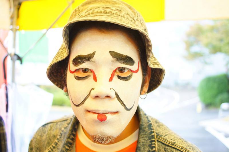 広島フェイスペイント組合-第51回比治山祭-1021-0046