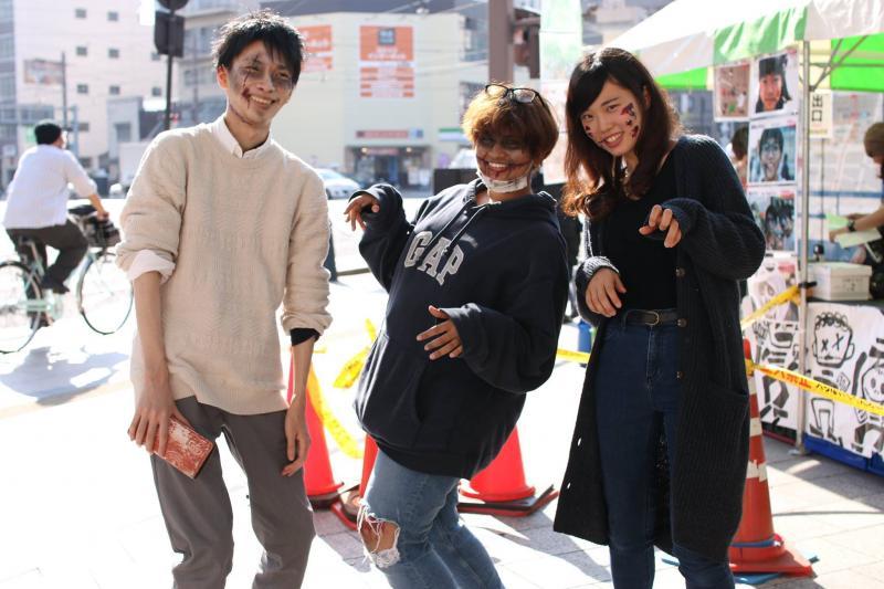 広島フェイスペイント組合-横川ゾンビナイト3-1027-0005