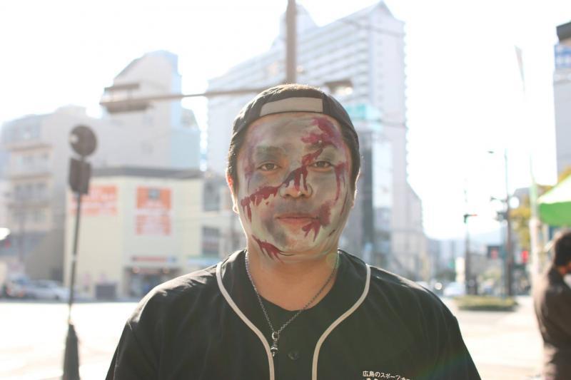 広島フェイスペイント組合-横川ゾンビナイト3-1027-0013