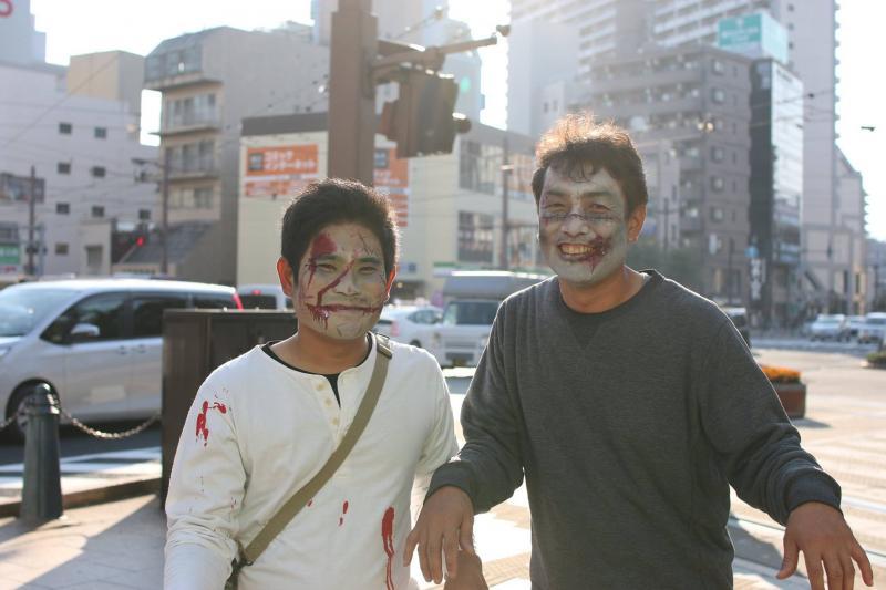 広島フェイスペイント組合-横川ゾンビナイト3-1027-0027