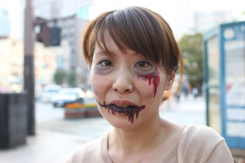 広島フェイスペイント組合-横川ゾンビナイト3-1027-0038