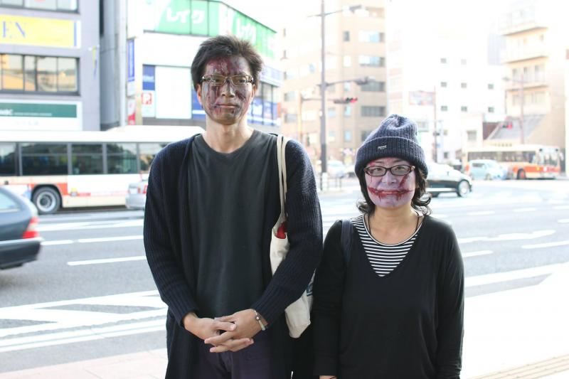広島フェイスペイント組合-横川ゾンビナイト3-1027-0043