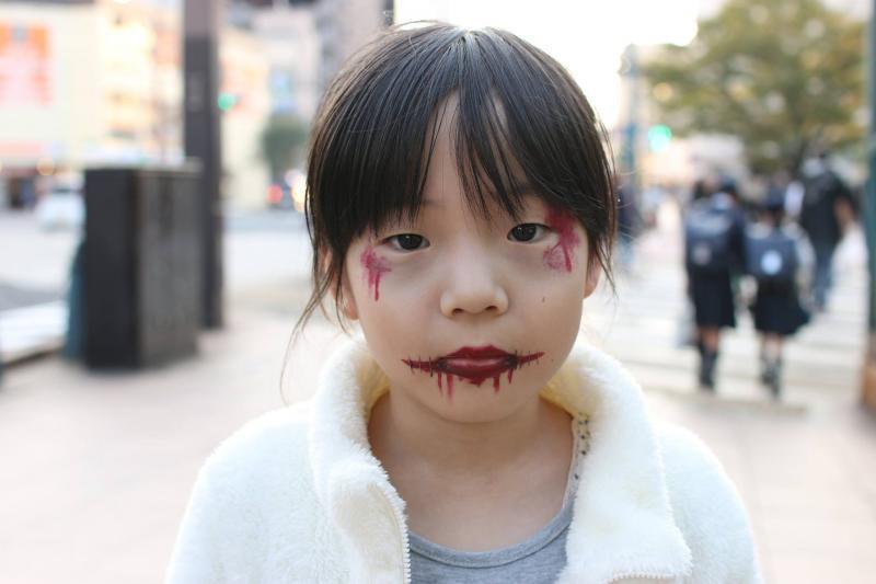 広島フェイスペイント組合-横川ゾンビナイト3-1027-0044