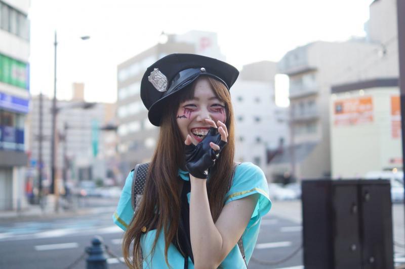 広島フェイスペイント組合-横川ゾンビナイト3-1027-0050
