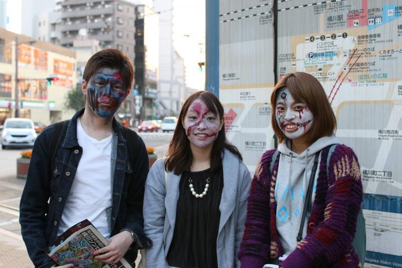 広島フェイスペイント組合-横川ゾンビナイト3-1027-0063