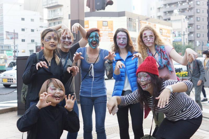 広島フェイスペイント組合-横川ゾンビナイト3-1027-0064