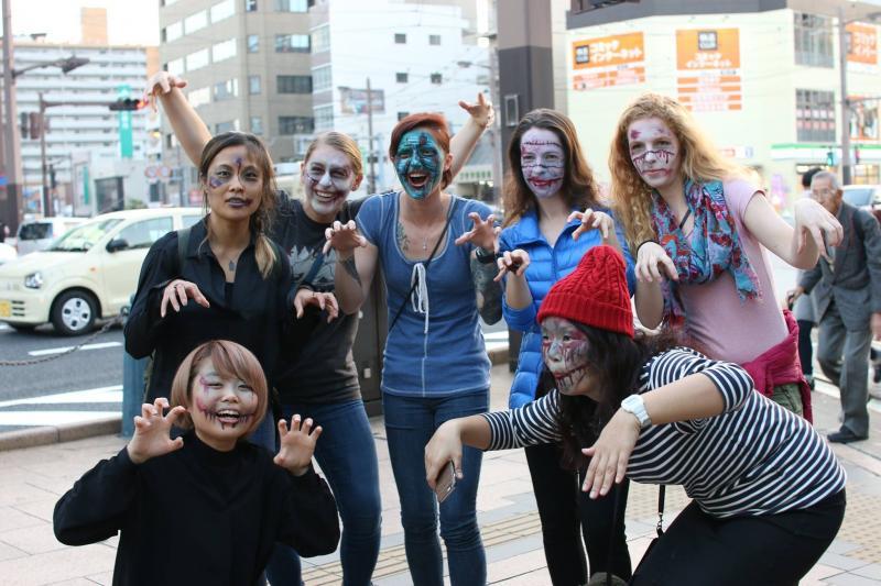広島フェイスペイント組合-横川ゾンビナイト3-1027-0068