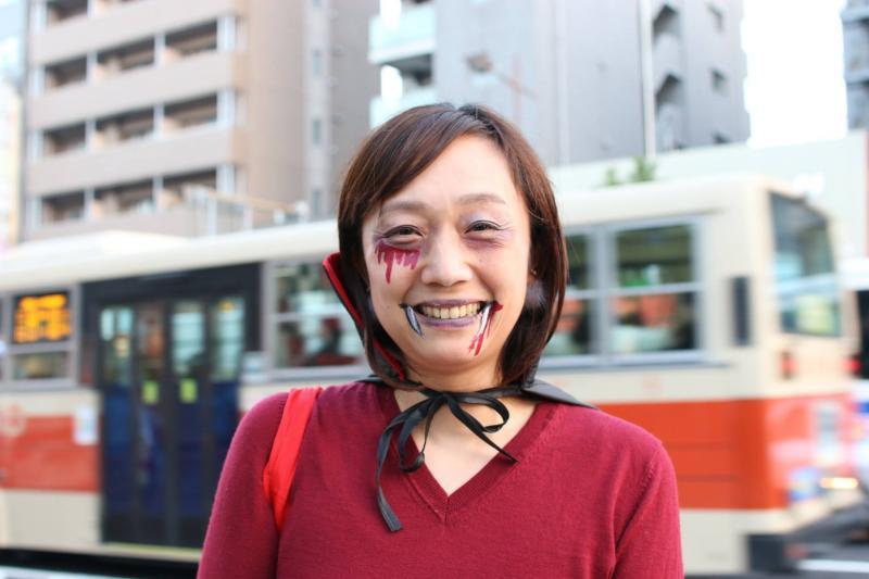 広島フェイスペイント組合-横川ゾンビナイト3-1027-0069