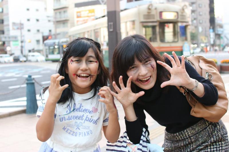 広島フェイスペイント組合-横川ゾンビナイト3-1027-0074