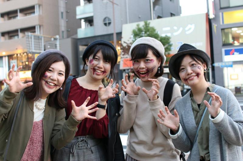 広島フェイスペイント組合-横川ゾンビナイト3-1027-0083