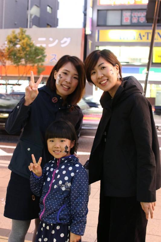 広島フェイスペイント組合-横川ゾンビナイト3-1027-0092