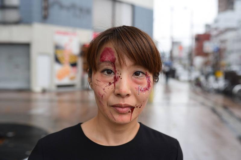 広島フェイスペイント組合-横川ゾンビナイト3-1028-0005