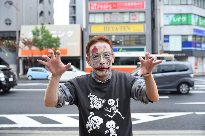 広島フェイスペイント組合-横川ゾンビナイト3-1028-0008