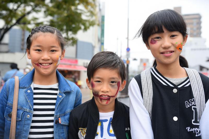 広島フェイスペイント組合-横川ゾンビナイト3-1028-0011