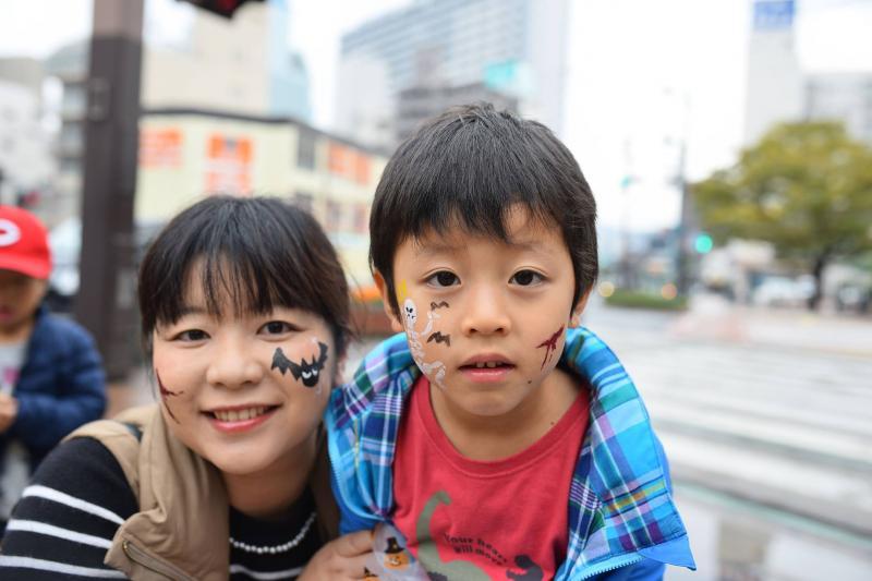 広島フェイスペイント組合-横川ゾンビナイト3-1028-0018