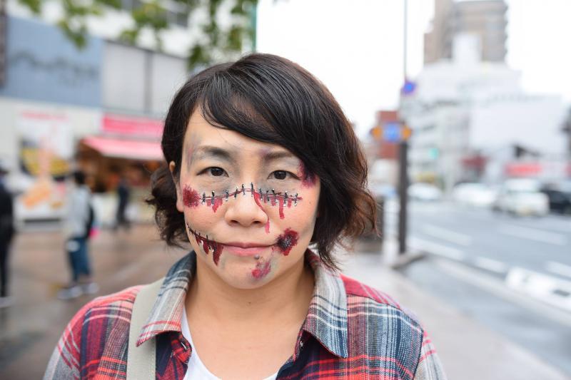 広島フェイスペイント組合-横川ゾンビナイト3-1028-0019