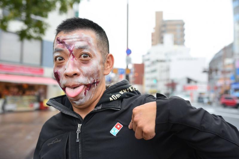 広島フェイスペイント組合-横川ゾンビナイト3-1028-0022