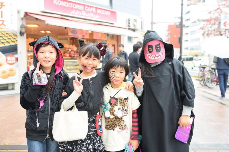 広島フェイスペイント組合-横川ゾンビナイト3-1028-0028