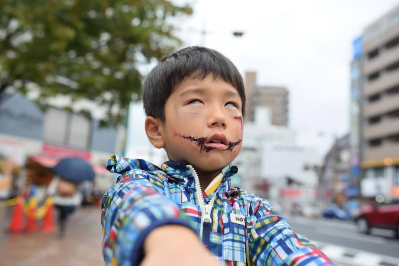 広島フェイスペイント組合-横川ゾンビナイト3-1028-0029