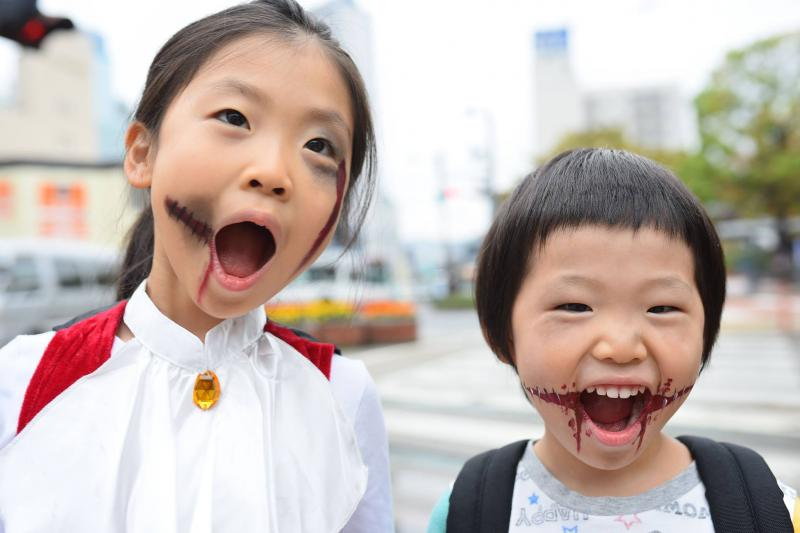 広島フェイスペイント組合-横川ゾンビナイト3-1028-0030