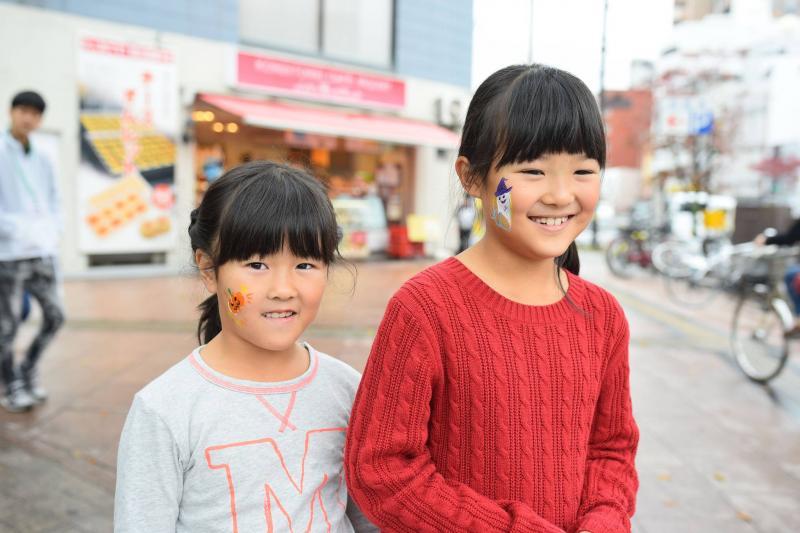 広島フェイスペイント組合-横川ゾンビナイト3-1028-0031
