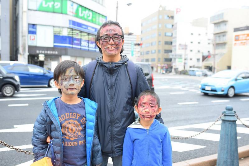 広島フェイスペイント組合-横川ゾンビナイト3-1028-0035