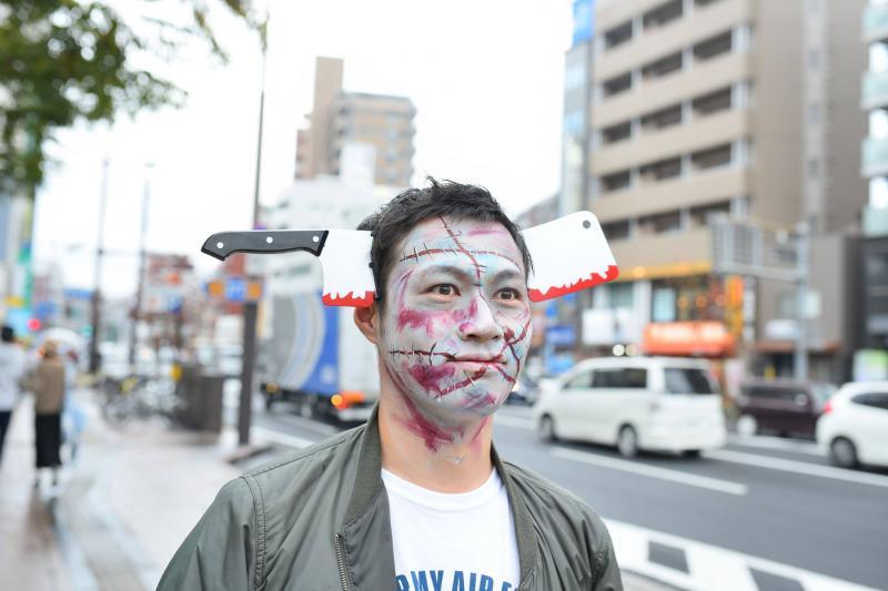 広島フェイスペイント組合-横川ゾンビナイト3-1028-0036