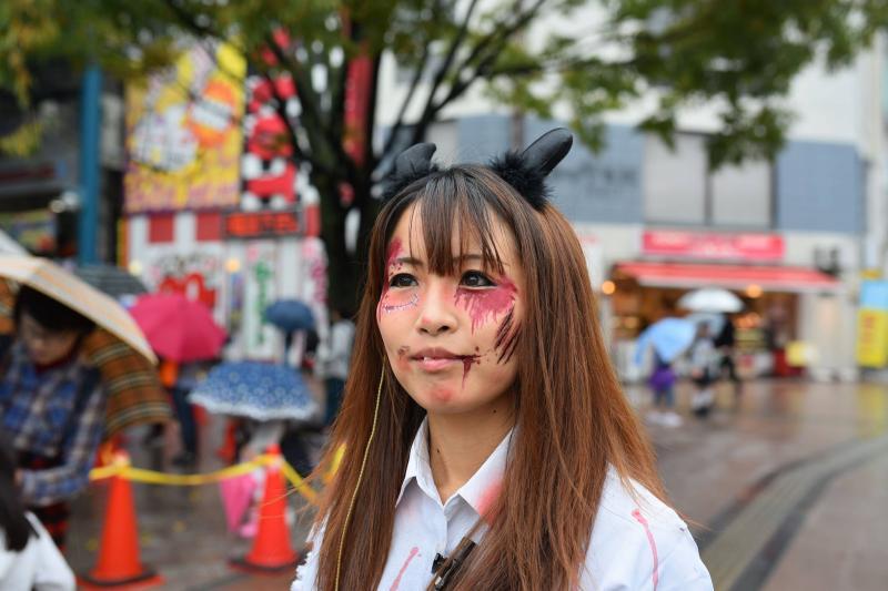 広島フェイスペイント組合-横川ゾンビナイト3-1028-0038