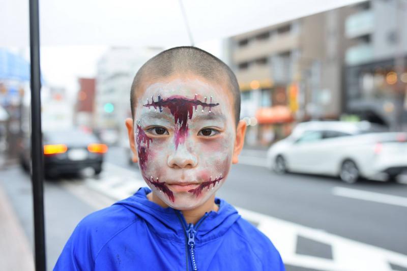 広島フェイスペイント組合-横川ゾンビナイト3-1028-0040